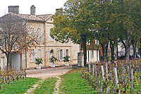 Winery building. Chateau Clos Fourtet, Saint Emilion, Bordeaux, France