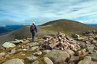 Cairn Gorm from Stob Coire an t-Sneachda, Cairngorm National Park, Badenoch and Speyside, Highland