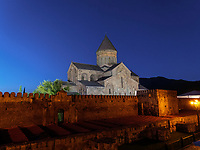 Kathedrale Sweti Zchoweli - Sveti Tskhoveli in Mzcheta, Georgien, Europa, UNESCO-Weltkulturerbe<br /> cathedral Sweti Zschoweli-Sveti Tskhoveli in Mzcheta,  Georgia, Europe, Heritage Site