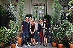 Chivas' VIP guests at the Lacroix boutique rue du Faubourg St Honoré  in Paris.