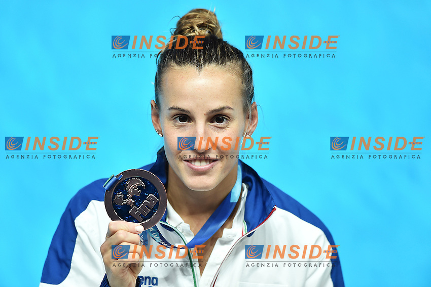 CAGNOTTO Tania ITA Bronze Medal <br /> Day9 01/08/2015 Aquatics Center<br /> Diving - Tuffi / Women's Springboard 3m Final - Trampolino 3m Donne Finale <br /> XVI FINA World Championships Aquatics  <br /> Kazan Tatarstan RUS <br /> Photo Andrea Staccioli/Deepbluemedia/Insidefoto