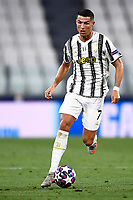 Cristiano Ronaldo of Juventus during the Champions League round of 16 second leg football match between Juventus FC and Lyon at Juventus stadium in Turin (Italy), August 7th, 2020. <br /> Photo Imagesport / Insidefoto