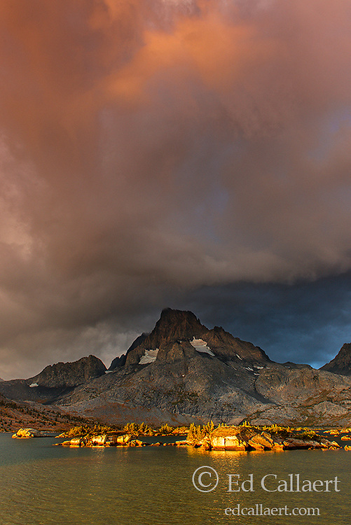 Approaching Storm, Banner Peak, Thousand Island Lake, Ansel Adams Wilderness, Inyo National Forest, Eastern Sierra, California
