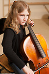 music enrichment public school with public-private partnership 9 year old girl playing the cello