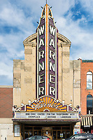 The Warner Theatre, Erie, Pennsylvania, USA.