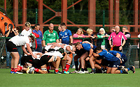 Saturday 5th September 2021<br /> <br /> Ulster scrum U18 Schools inter-pro between Ulster Rugby and Leinster at Newforge Country Club, Belfast, Northern Ireland. Photo by John Dickson/Dicksondigital