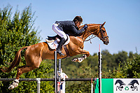 ESP-Gonzalo Blasco Botin rides Lightstream during the Jumping for the CCIO4*-S. FRA-Le Grand Complet - Haras du Pin FEI Nations Cup Eventing. Le Pin au Haras. Normandie. France. Saturday 14 August 2021. Copyright Photo: Libby Law Photography
