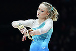 Gymnastics World Cup  23.3.19. World Resorts Arena. Birmingham UK.  Riley McCusker (USA)<br />  in action