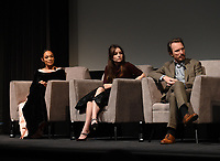 """NEW YORK CITY - OCTOBER 5: Rosario Dawson, Kaitlin Dever, and John Hoogenakker attend a SAG Screening of Hulu's """"DOPESICK"""" at the Museum of Modern Art on October 5, 2021 in New York City. . (Photo by Frank Micelotta/Hulu/PictureGroup)"""