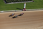 March 6, 2021: Sugar Love (7) with jockey David Cohen aboard winning the third race at Oaklawn Racing Casino Resort in Hot Springs, Arkansas on March 6, 2021. Justin Manning/Eclipse Sportswire/CSM