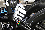World Champion Mark Cavendish's (GBR) Sky Procycling team Pinarello bike before the start of Stage 4 of the 2012 Tour of Qatar from Al Thakhira to Madinat Al Shamal, Qatar. 8th February 2012.<br /> (Photo Eoin Clarke/Newsfile)