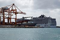 MSC Fantasia im Hafen von Kingston auf Barbados - 16.01.2018: Schnorcheln auf Barbados mit der MSC Fantasia