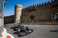 4th June 2021; Baku, Azerbaijan; Free practise sessions;  10 GASLY Pierre fra, Scuderia AlphaTauri Honda AT02, action during the Formula 1 Azerbaijan Grand Prix 2021 at the Baku City Circuit, in Baku, Azerbaijan