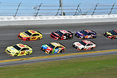 Monster Energy NASCAR Cup Series<br /> The Advance Auto Parts Clash<br /> Daytona International Speedway, Daytona Beach, FL USA<br /> Sunday 11 February 2018<br /> Ryan Blaney, Team Penske, Menards/Peak Ford Fusion, Joey Logano, Team Penske, Shell Pennzoil Ford Fusion, Kyle Busch, Joe Gibbs Racing, M&M's Toyota Camry, Austin Dillon, Richard Childress Racing, Dow Chevrolet Camaro, Erik Jones, Joe Gibbs Racing, Circle K Toyota Camry.<br /> World Copyright: John K Harrelson<br /> LAT Images