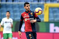 Cristian Romero of Genoa <br /> Genova 03-02-2019 Stadio Marassi, Football Serie A 2018/2019 Genoa - Sassuolo   <br /> Foto Image Sport / Insidefoto