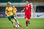 Australia vs China PR during the AFC U-19 Women's Championship China Group A match at the Jiangsu Training Base Stadium on 20 August 2015 in Nanjing, China. Photo by Aitor Alcalde / Power Sport Images