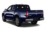 Car pictures of rear three quarter view of a 2018 Mercedes Benz X Class Power 4 Door Pick Up angular rear