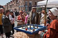 Europe/France/Nord-Pas-de-Calais/59/ Nord/ Bergues: Jeux flamands lors d'une Fête médiévale
