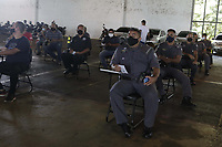 Campinas (SP), 05/04/2021 - Vacinacao - Comecou nesta segunda-feira (05) a campanha para a vacinacao contra a covid-19 em profissionais das forcas de seguranca nos quarteis em todo o estado de Sao Paulo. (Foto: Denny Cesare/Codigo 19/Codigo 19)