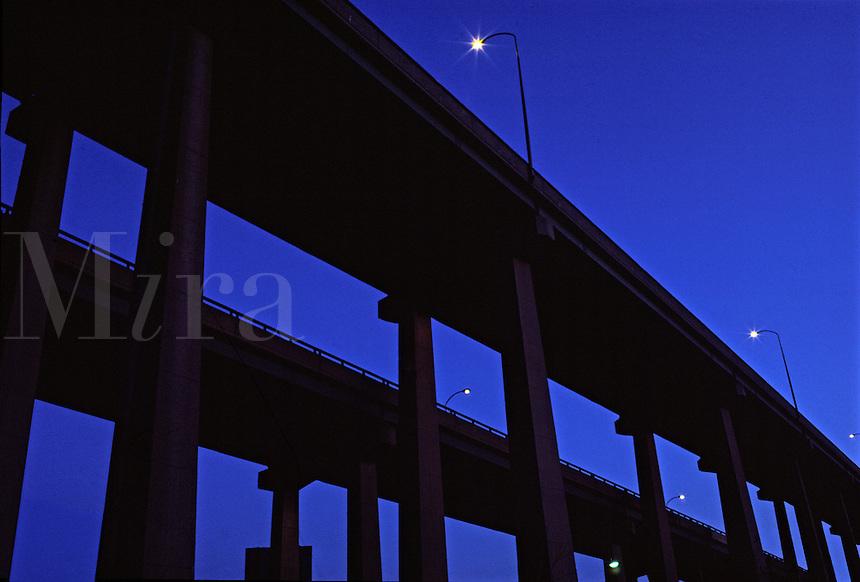 Highway overpass.