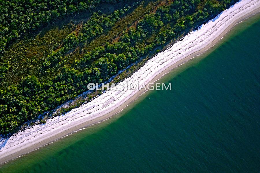 Ilha das Peças no Parque Nacional de Superagüi. Guaraqueçaba. Paraná. Foto de Zig Koch.