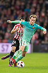 Sergio Busquets Burgos of FC Barcelona in action during their Copa del Rey Round of 16 first leg match between Athletic Club and FC Barcelona at San Mames Stadium on 05 January 2017 in Bilbao, Spain. Photo by Victor Fraile / Power Sport Images