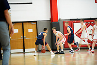 Gunnar Nortman (#10) - Mount Horeb Wisconsin high school basketball 12/7/18