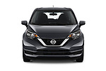 Car photography straight front view of a 2019 Nissan Versa-Note SV 5 Door Hatchback