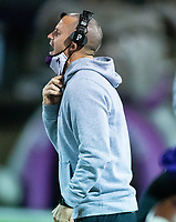 Casey Dick head football coach of Fayetteville against Little Rock Central at Harmon Stadium, Fayetteville, Arkansas on Friday, November 13, 2020 / Special to NWA Democrat-Gazette/ David Beach