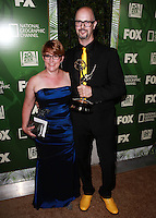 LOS ANGELES, CA, USA - AUGUST 25: Kristin Woehl Ragins, Charles Ragins at the FOX, 20th Century FOX Television, FX Networks And National Geographic Channel's 2014 Emmy Award Nominee Celebration held at Vibiana on August 25, 2014 in Los Angeles, California, United States. (Photo by David Acosta/Celebrity Monitor)