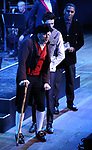 """Tony Yazbeck, Drew Gehling and Norm Lewis performing during the MCP Production of """"The Scarlet Pimpernel"""" Concert at the David Geffen Hall on February 18, 2019 in New York City."""