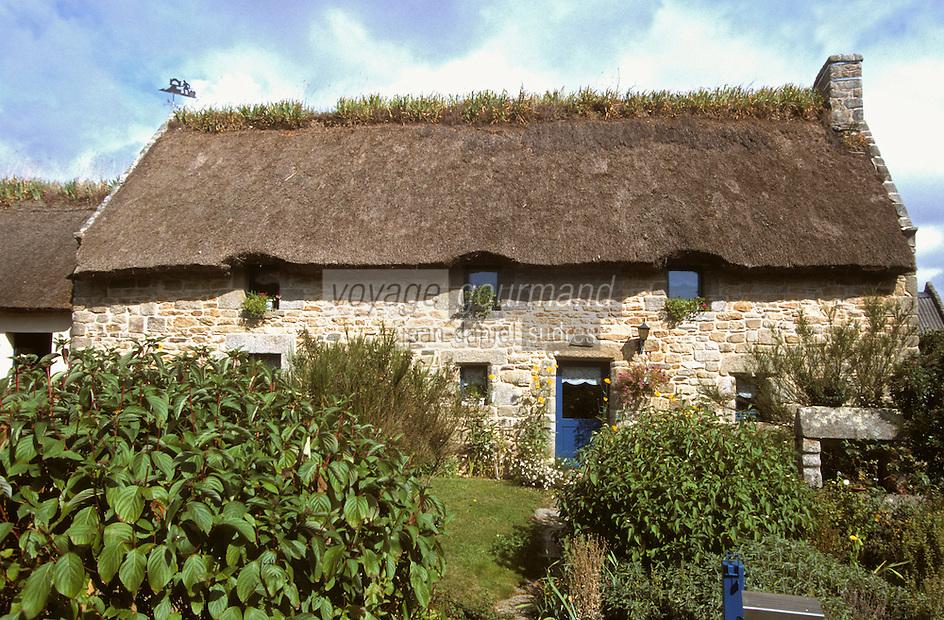 Europe/France/Bretagne/29/Finistère/Riec-sur-Belon: Chaumière de Lanneguy