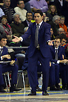 Euroleague Basketball-Regular Season Game: 07<br /> FC Barcelona vs Fenerbahce Ulker Istanbul: 94-81.<br /> Xavi Pascual.