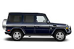 2013 Mercedes-Benz G-Class G550 SUV Passenger Side View Stock Photo