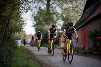 Lars van der Haar (NED/Telenet Fidea Lions)<br /> <br /> Elite Men's race<br /> Koppenbergcross / Belgium 2017