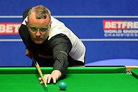 17th April 2021; Crucible Theatre, Sheffield, England; Betfred Snooker World Championships;  England s Martin Gould competes during the first round match with China's Yan Bingtao