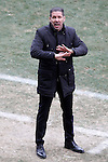 Atletico de Madrid's coach Diego Pablo Cholo Simeone during La Liga match.February 7,2015. (ALTERPHOTOS/Acero)