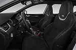 Front seat view of a 2017 Skoda Octavia Combi RS 5 Door Wagon front seat car photos