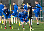 St Johnstone Training….06.10.20     <br />Craig Bryson and Jamie McCart pictured during training at McDiarmid Park this morning ahead of tomorrow nights Betfred Cup game against Kelty Hearts.<br />Picture by Graeme Hart.<br />Copyright Perthshire Picture Agency<br />Tel: 01738 623350  Mobile: 07990 594431