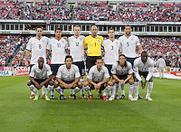 US Men's National Team Starting Eleven. FIFA World Cup qualifiers U.S. Men's National Team vs. Trinidad & Tobago. US defeated Trinidad & Tobago 3-0 at LP Field in Nashville, Tennessee on April 1, 2009.