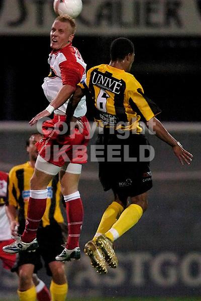 veendam - fc dordrecht jupiler league seizoen 2007-2008 17-09-2007  koipduel met zimmerman en vd velden
