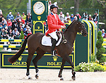 01 May 2011.Remington XXV and Boyd Martin finish 9th in the Rolex Three Day Event.