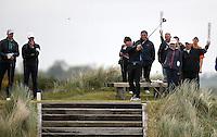27 May 2015; Stephen Watson tees off at the 8th<br /> <br /> Dubai Duty Free Irish Open Golf Championship 2015, Pro-Am. Royal County Down Golf Club, Co. Down. Picture credit: John Dickson / DICKSONDIGITAL