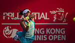 Heather Watson of Great Britain vs Samantha Stosur of Australia during the WTA Prudential Hong Kong Tennis Open at the Victoria Pack Stadium on 16 October 2015 in Hong Kong, China. Photo by Victor Fraile / Power Sport Images