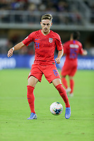 WASHINGTON, D.C. - OCTOBER 11: Tyler Boyd #21 of the United States traps the ball during their Nations League game versus Cuba at Audi Field, on October 11, 2019 in Washington D.C.