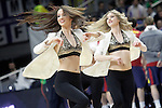 Real Madrid's cheerleaders during Euroleague match.February 5,2015. (ALTERPHOTOS/Acero)