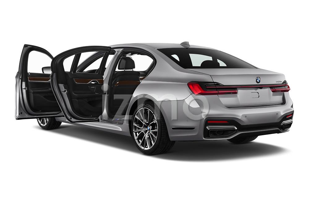 Car images close up view of a 2020 BMW 7-Series  M-Sport 4 Door Sedan doors