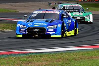 11th October 2020, Heusden-Zolder, Belgium; Germany Touring Car DTM Championships Race day;   Robin Frijns NED Audi Team Abt Sportsline and Nico Mueller SUI Audi Sport Team Abt Sportsline