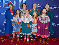 """LOS ANGELES, USA. November 08, 2019: Sami Presidents at the world premiere for Disney's """"Frozen 2"""" at the Dolby Theatre.<br /> Picture: Paul Smith/Featureflash"""