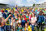 David Clifford with fans at the Kerry GAA Open Day Meet and Greet, at Fitzgerald Stadium, Killarney on Saturday last.